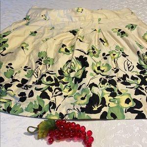 💋George 16 mid length skirt  floral print